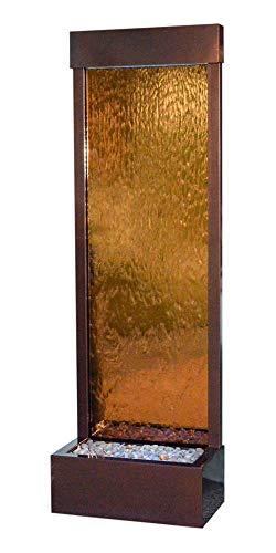 BluWorld Tall 6' Dark Copper Gardenfall with Bronze Mirror ()