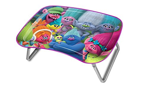 JayBeeCo Trolls Children's Multipurpose Snack Activity - Toddler Snack Tray