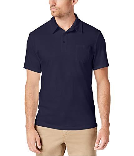 Club Room Mens Pocket Rugby Polo Shirt Blue 2XL from Club Room