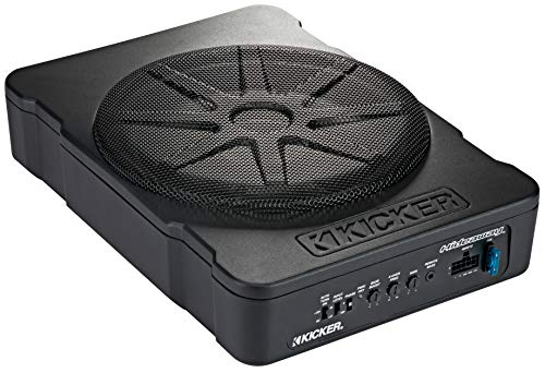 Why Choose KICKER 46HS10 Compact Powered 10-inch Subwoofer