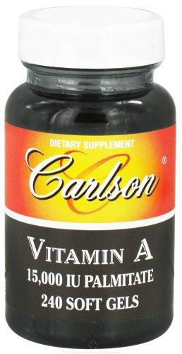 Carlson Labs Vitamin A Palmitate, 15000 IU