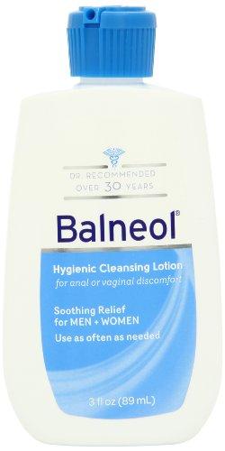Balneol hygiénique Lotion nettoyante, bouteilles 3,0 onces (Pack de 2)