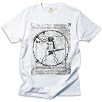Camiseta Rock Cool Tees Guitarra Da Vinci