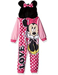 Girls Minnie Mouse Blanket Sleeper