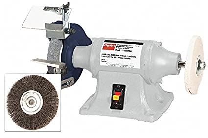 Pleasant 8 Bench Grinder Buffer 120 240V 3 4 Hp 3450 Max Rpm 5 Ncnpc Chair Design For Home Ncnpcorg