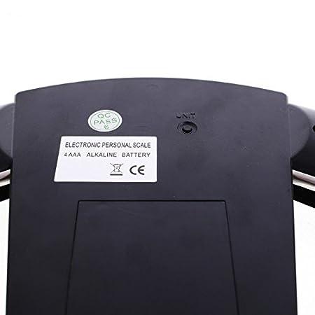 JTHKX Top Fashion Oferta Especial 200Kg Gris Sólido para Pesas de Cristal Tensado Básculas de Baño Digital Báscula Personal: Amazon.es: Hogar