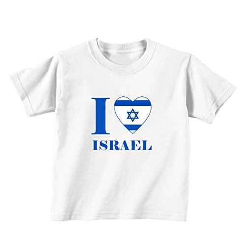 Love Israel Toddler Baby T shirt product image