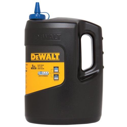 DEWALT DWHT47062 5-Pound Chalk, Blue