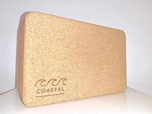 Amazon.com: Coastal Y&P - Bloque de yoga de corcho natural ...