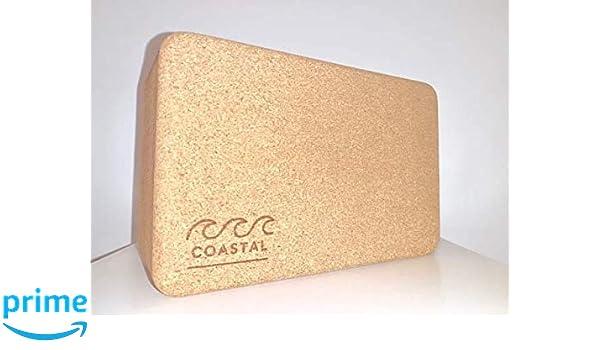 Coastal Y&P - Natural Cork Yoga Block (1.1, 369)