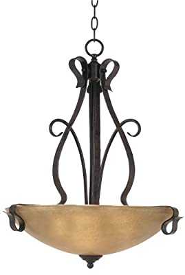 Modella Collection Rustic Iron Pendant Chandelier