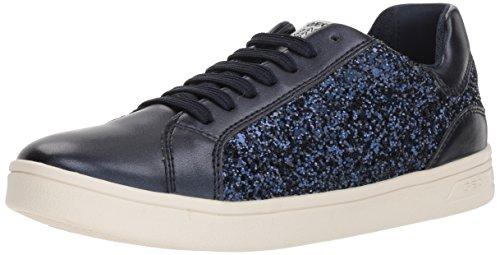 Geox J Djrock D, Zapatillas Para Niñas Azul (Navy)