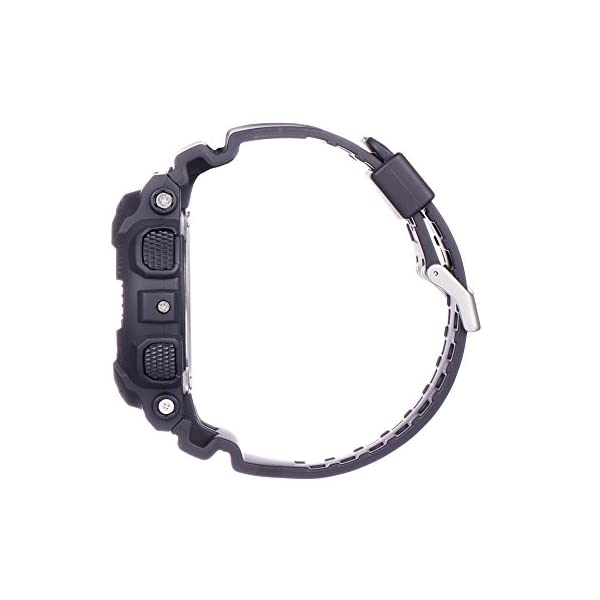 Casio Reloj Analogico-Digital para Hombre de Cuarzo con Correa en Resina GA-100MB-1AER 7