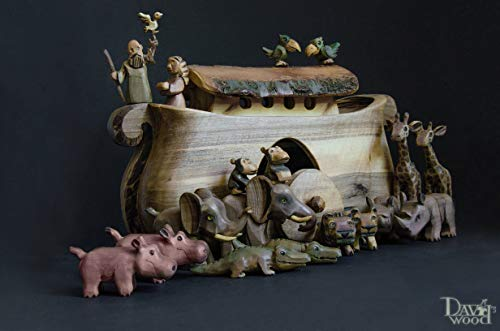 Noah's Ark Set Wooden toy ()