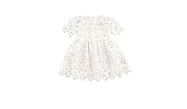 Amazon.com: bee on cee Summer White Childrens Dresses - White, 24M: Clothing