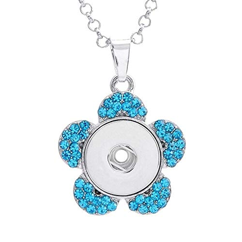 - 2017 NEW Crystal Alloy Pendant for Fit Noosa Necklace Snap Chunk Button A238