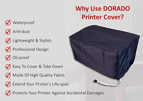 Dorado Dust Proof Water Proof Washable Printer Cover for HP DeskJet Ink Advantage 2677 (Blue)