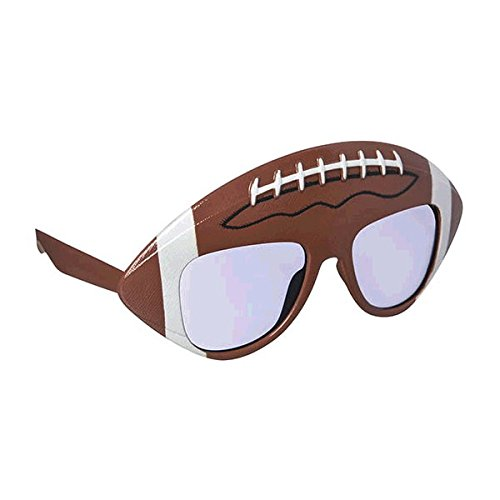 Football Themed Party Costumes (Stylish Birthday Party Football Funshades Accessory, Plastic, 6