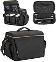 Trunab Gaming Console Bag Compatible with PS5/PS4/Xbox One, Protective Travel Carry Case Storage for Controlle