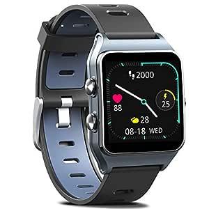MorePro - Reloj Inteligente con GPS y 17 Modos Deportivos, 50 m ...
