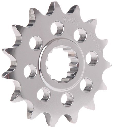 Vortex Motorcycle Parts (Vortex Front Sprocket-16T Steel for Kawasaki ZX 12R 14 ZZR)