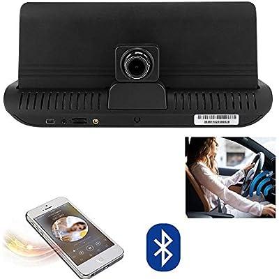 Garsent Dash Cam  7-inch Dual Network GPS Car DVR Car Mirror DVR Bluetooth WIFI E-dog Full 1080P Car DVR Dashboard Camera