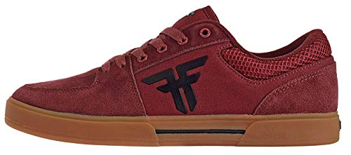 (Fallen Men's Patriot Skate Shoe (7 M US, Crimson/Gum) )