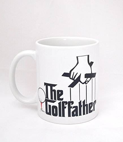 Men's Funny Coffee Mug - Father's Day Mug - The Golf father
