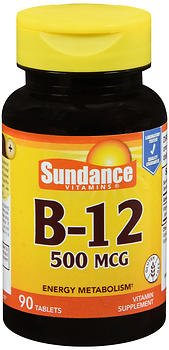 Sundance B 12 500 Mcg   90 Tablets