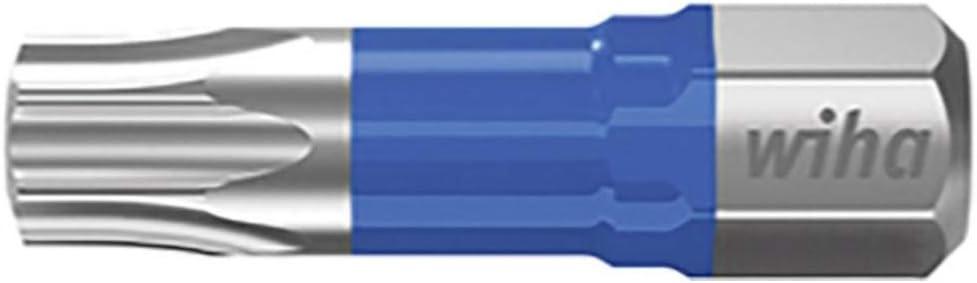 Juego de brocas 25 mm, 25 unidades color azul 42301 Wiha Torx T