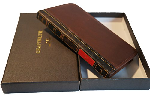 CHAPTER XVI THE BOOK for iPhone 6 Plus (5.5 inch) - Genuine Vintage Leather iPhone 6 Plus Case with Wallet (Vintage Brown) by CHAPTER XVI (Image #2)