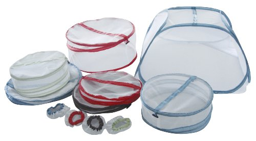 Ming's Mark FC68101 Mesh Food Cover - 1 Set (7 covers)