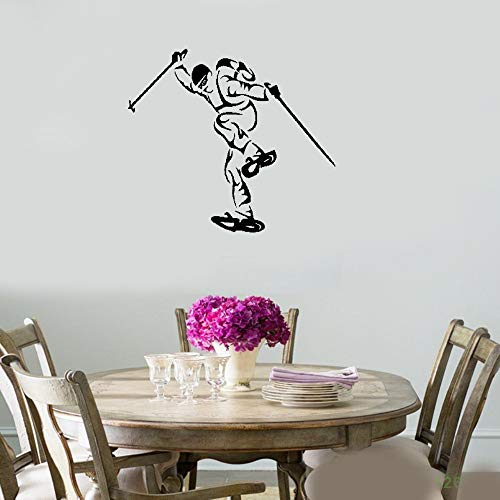 Quotes Art Decals Vinyl Removable Wall Stickers Ski Winter Extreme Sport Olympic Games