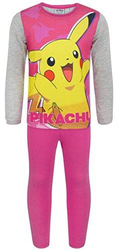 Price comparison product image Noisy Sauce Pokemon Pikachu Girl's Pyjamas (7-8 Years)