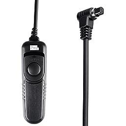 Pixel Wired remote Shutter Release Control compatible with CANON TC-80N3, fits Canon EOS 7D, 5D Mark II, 5D, 1D, 1D Mark II, 1D Mark III, 1D Mark IV, 1Ds, 1Ds Mark II, 50D, 40D, 30D, 20D, 10D, D60, D30, D2000,