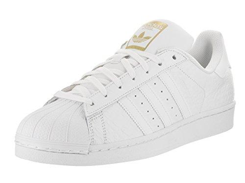 Adidas Mænds Superstar Originaler Ftwwht / Ftwwht / Goldmt Afslappet Sko 10.5 Mænd Os r4WaBYAg4