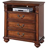 Abbey Avenue B-ASH-TV B Ashton Media Chest, Oak