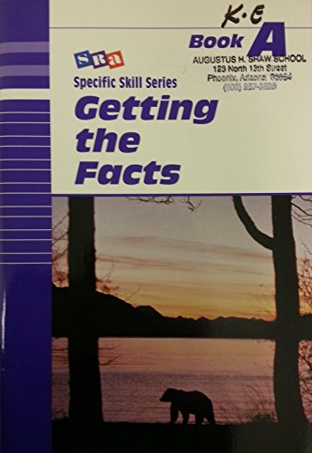 SRA Specific Skills Series, Getting the Facts Book A