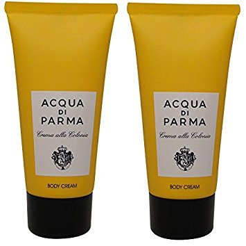 Acqua Di Parma Colonia Body Cream lot of 2 each 2.5oz Bottles. Total of 5oz