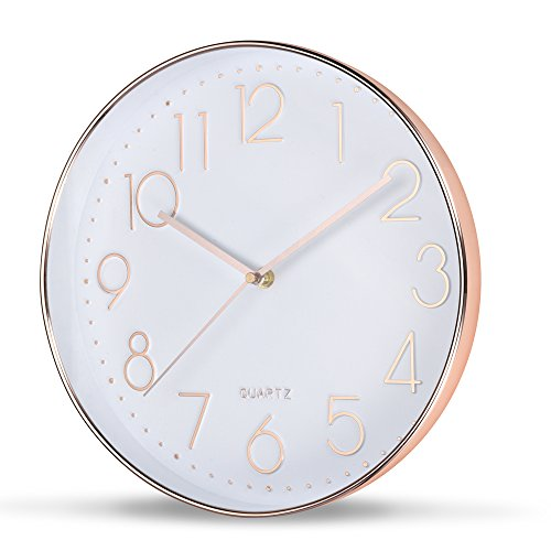 SOULMATES Large Decorative Wall Clock/Silent Sweep and Non T