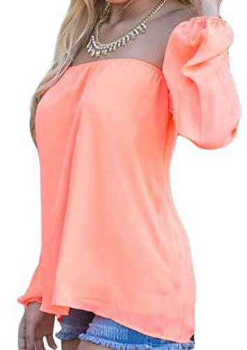 Zauberkirschen - Camisas - Básico - Manga Larga - 75 DEN - para mujer albaricoque