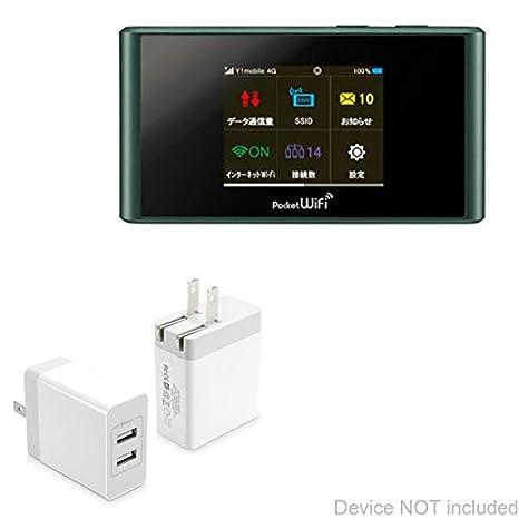 Amazon com: BoxWave ZTE Pocket WiFi 305ZT Charger, [Dual