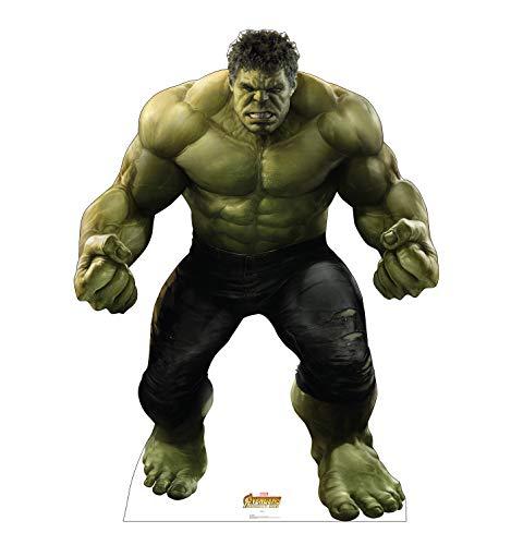 Advanced Graphics Hulk Life Size Cardboard Cutout Standup - Marvel's Avengers: Infinity War (2018 Film)