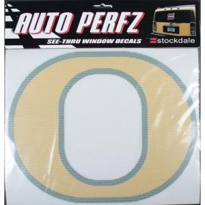 Amazoncom Oregon Ducks Perforated Vinyl Window Decal O Logo - Vinyl window decals amazon