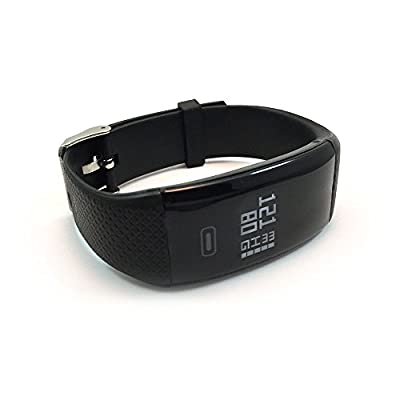 Smart Band: Heart Rate Blood Pressure Monitor Fitness Activity Sports Tracker Watch Calorie Step Sleep Counter Wireless Wristband Pedometer Oxygen Monitoring Exercise Tracking Bracelet IOS Android