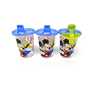 The First Years Disney Take & Toss Sippy, 10 Ounce, 3 Pack Mickey Mouse