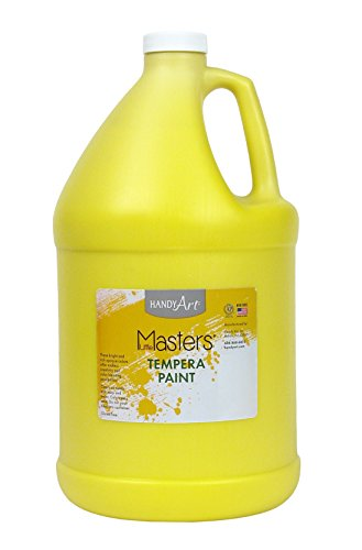 Handy Art Little Masters Tempera Paint Gallon, Yellow by Handy Art®