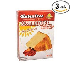 Cake Mix, Angel Food, G/F , 16 oz (pack of 6 ) ( Value Bulk Multi-pack) by Kinnikinnick