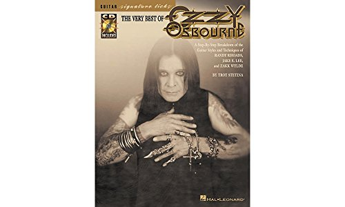 Hal Leonard The Very Best Of Ozzy