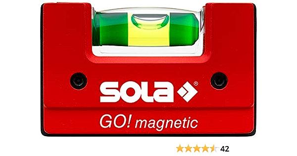 Sola 1621101 GOMAGNETIC, Rojo, 68 x 21 x 42 mm: Amazon.es ...